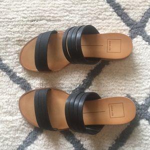 Dolce vita black sz 8 sandal